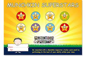 Superstar Weekly Reward Chart Become A Munchkin Super Star Munchkin Sports