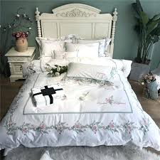 charming pima cotton duvet small fresh simple style exquisite embroidery cotton bedding set duvet cover bed charming pima cotton duvet