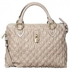 Marc Jacobs Quilted Bag 'Rio' Taupe - Polyvore & Marc Jacobs Quilted Bag 'Rio' Taupe Adamdwight.com