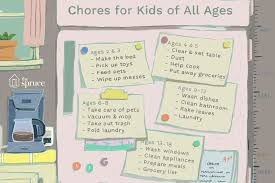 Make A Chore List A List Of Age Appropriate Chores For Kids 2 18