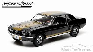 ford mustang 1967 black. 1967 ford mustang gt black w gold stripes greenlight 12897 118 scale diecast model toy car