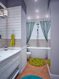 Blue And Yellow Home Decor - Yellow and white bathroom
