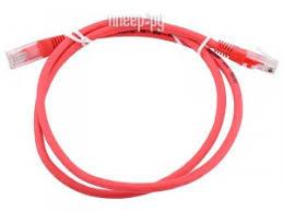 <b>Сетевой кабель AOpen</b> UTP cat.5e ANP511 1m Red ANP511_1M_R