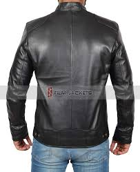 leather jacket for men mens leather moto jacket