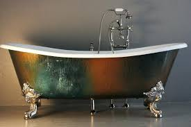 copper clawfoot tub the cast iron french tub with copper antique copper clawfoot tub