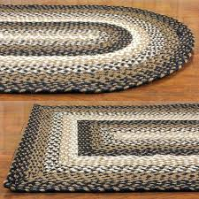 woven kitchen rugs wool braided rugs rectangular country woven cotton area blue rug oval kitchen