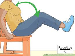 image titled exercise your abs while sitting step 8