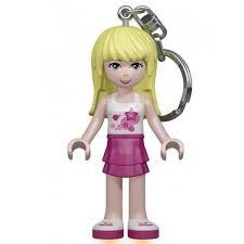 ≡ <b>Брелок</b>-фонарик <b>LEGO Friends Стефани</b> (LGL-KE22 S-6-BELL ...