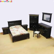 mini furniture sets. Wooden Doll House Bedroom Set-mini Furniture Mini Sets U