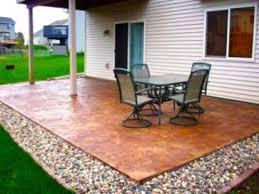 concrete slab patio makeover. Wonderful Patio Smart Backyard Patio Ideas Concrete Diy Cheap  Furniture Old With Slab Makeover E