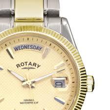 rotary mens havana watch champagne dial gb02661 20 rotary gb02661 20