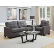 Pulaski Living Room Furniture Pulaski Furniture Vernon Slate Gray Polyester Sofa Ds 2635 680 424