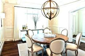 dining room area rug rugs round table size average standard sizes for