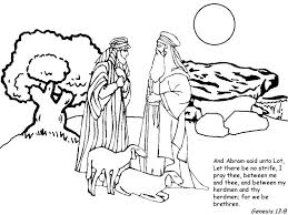 Online free coloring printable sheets to take with you on the go for kids, adults and teens. Abraham Coloring Page