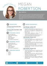 The Megan Resume Professional Word Template Microsoft 2014