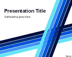 Powerpoint Templates 2007 Blue Lines Professional Powerpoint Template Is A Free Abstract
