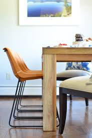 leather breakfast nook furniture. Leather Side Chairs In A Breakfast Nook Makeover Process. Stylish, Kid-friendly Furniture C