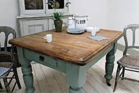 image of diy small farmhouse dining table
