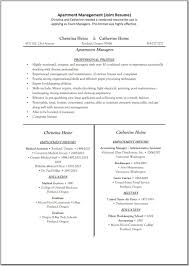 sample resume for apartment assistant manager professional sample resume for apartment assistant manager assistant property manager cover letter sample resume resume cover letter