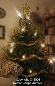 FINNISH CHRISTMAS DECORATIONS. Christmas tree. Christmas tree