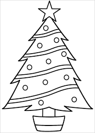 Small Picture 23 Christmas Tree Templates Free Printable PSD EPS PNG PDF