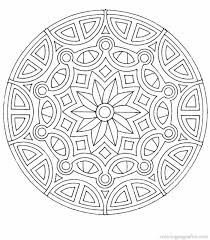 Small Picture Mandala Coloring Pdf Perfect Coloring Mandala Coloring Pdf at
