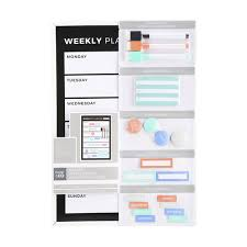 Magnetic Dry Erase Weekly Organisation Centre