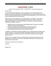 Cover Letter For Graphic Designer Best Graphic Designer Cover Letter Examples LiveCareer 1