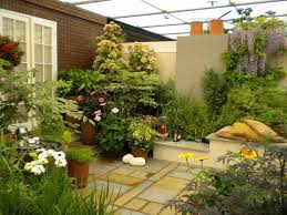 Small Picture Garden Small Space Garden Designs with Balance Softscape and