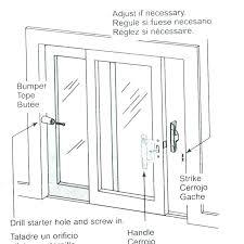sliding glass door replacement parts elegant patio door parts for per sliding patio door rubber per