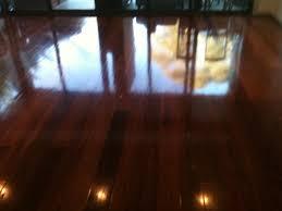 wood floor waxing