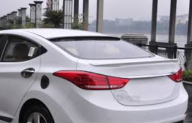 Car Abs Material Roof Spoiler For Hyundai Elantra 2013 2014 2015