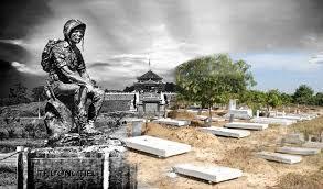 Image result for hình những ngôi mộ tại nghĩa trang Biên hoà