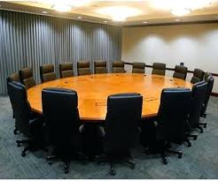 perfect office round meeting table what your conference says about small dimensions lovable offic