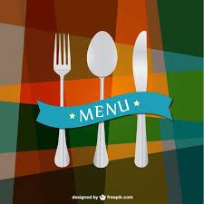 Kitchen utensils background Vector Free Download
