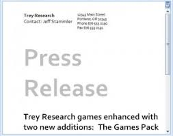 Templates For Press Releases Press Release Email Template Email Press Release Template