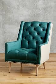 aqua leather accent chair. premium leather \u0026 belgian linen booker armchair aqua accent chair