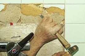 ceramic floor tiles from concrete floor