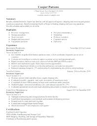 Sample Warehouse Management Resume Warehouse Supervisor Resume Warehouse Supervisor Resume Samples