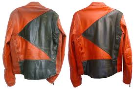 cleaning a leather motocross jacket