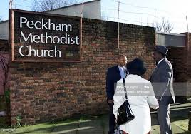 Reverend Wesley Daniels , outside Peckham Methodist Church, where... News  Photo - Getty Images