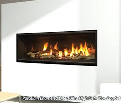 linear gas fireplace ventless linear natural gas fireplace