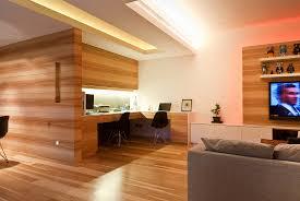 design a home office. Wood Home Office | Interior Design Ideas. A E