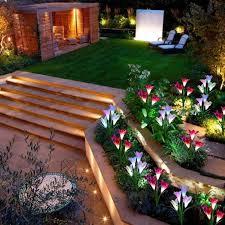 solar powered decorative lights help