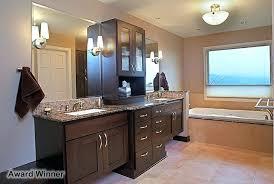 bathroom remodeling seattle. Check This Bathroom Remodeling Seattle Wa Features Include Walnut Cabinetry Toe Kick Lighting Granite Counter Tops