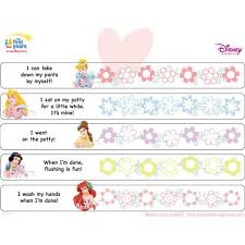 Diy Princess Potty Chart Printable Toddler Potty Training