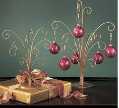 Bauble Display Stand 100 Natural Metal Display Ornament Tree Gold List price 18