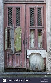 old door in sintra portugal showing signs of age and decay