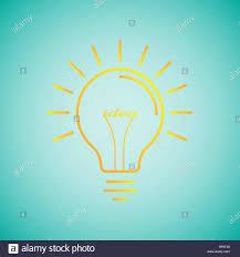 Light Bulb Word Art Electric Bulb Word Art Stock Photos Electric Bulb Word Art