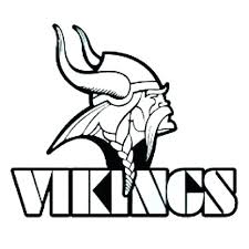 Vikings Football Coloring Pages At Getdrawingscom Free For